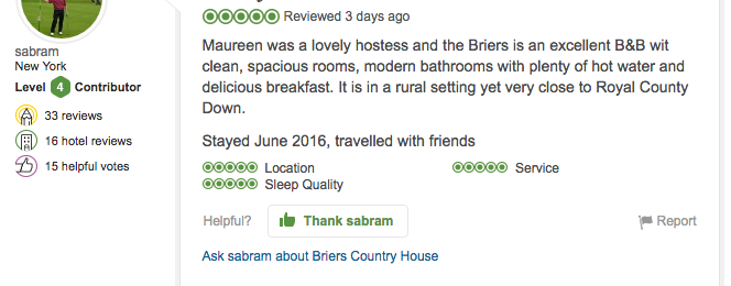 One of the best B&B's I've ever visited