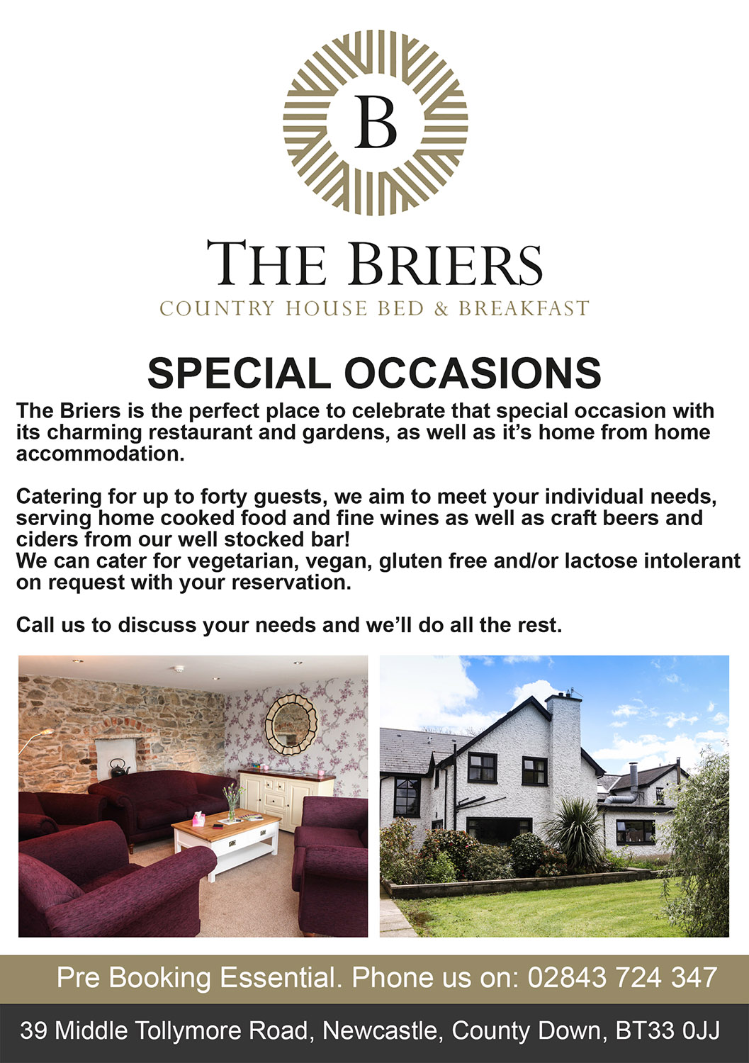 special occasions at the briers 2019 WEB